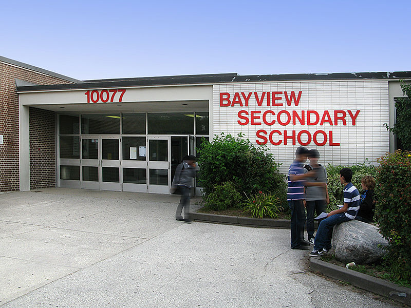 800px Bayview SS front entrance 1