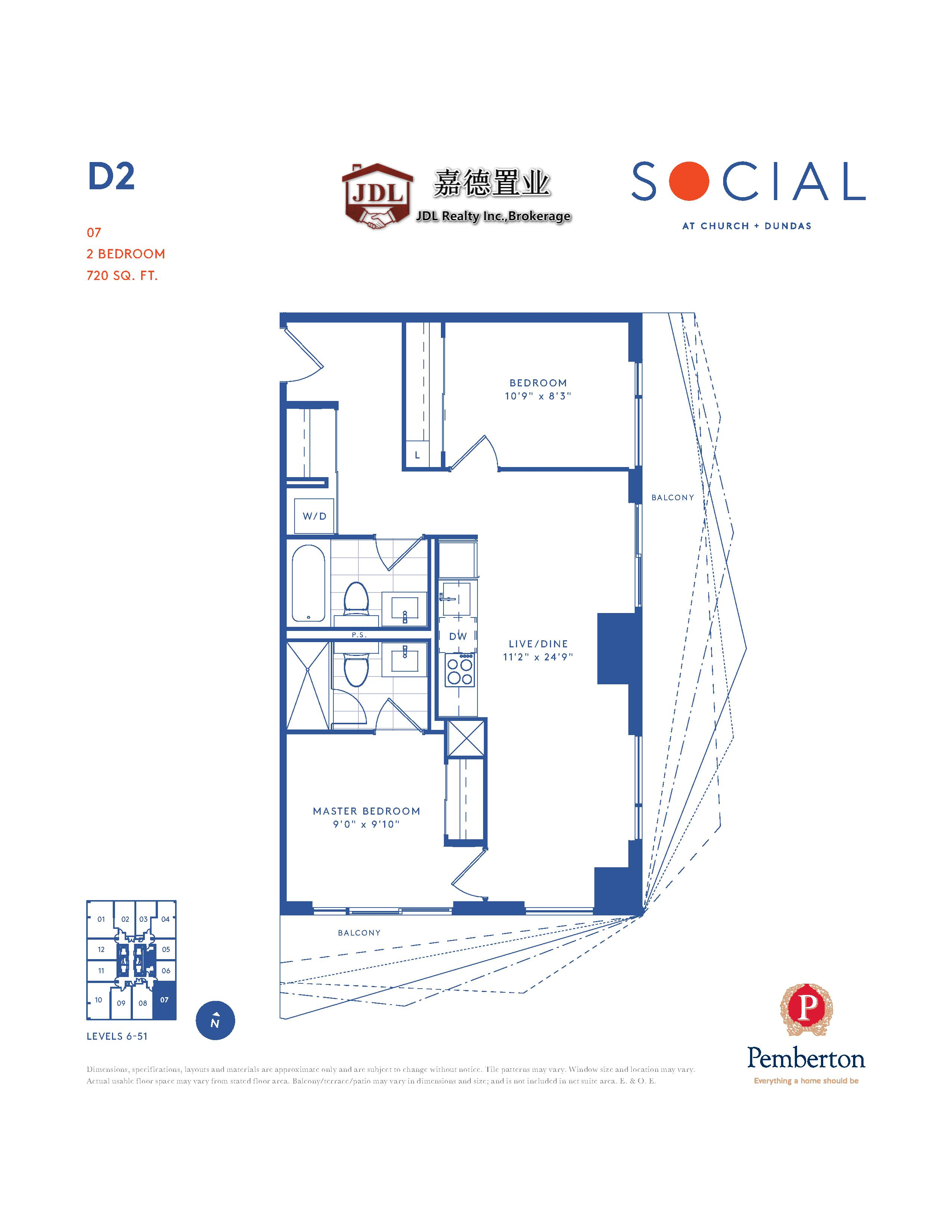Social Tower floor plan 1 9