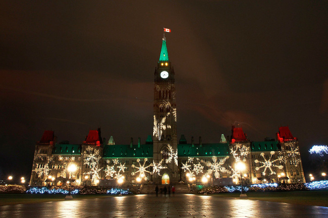Ottawa in Christmas