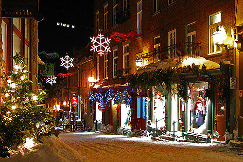 Quebec in christmas