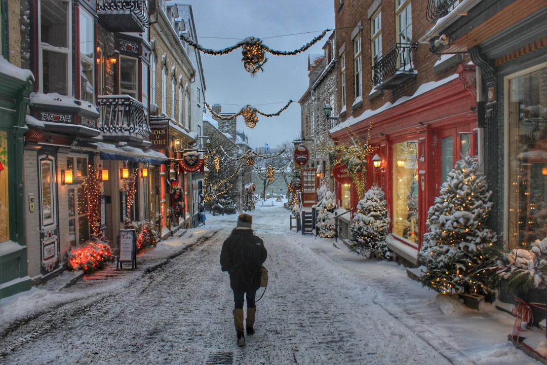 Quebec in christmas 1