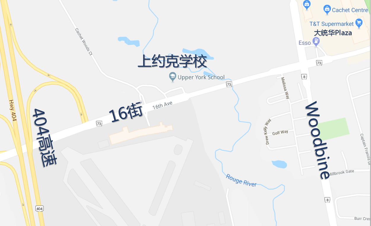 Map of school