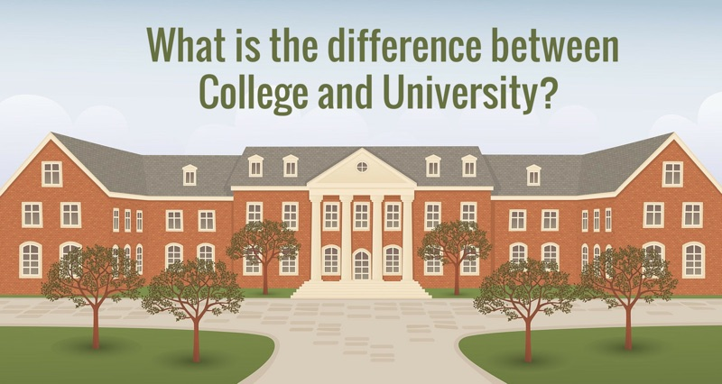 Rank Difference of college and university