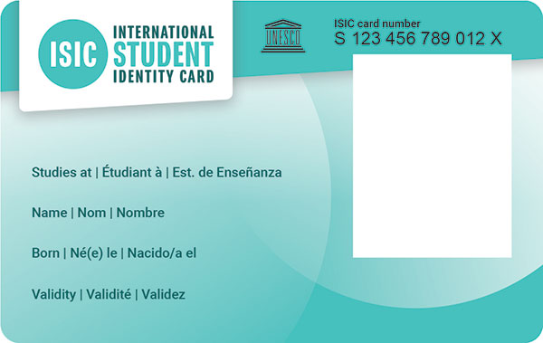 isic card product